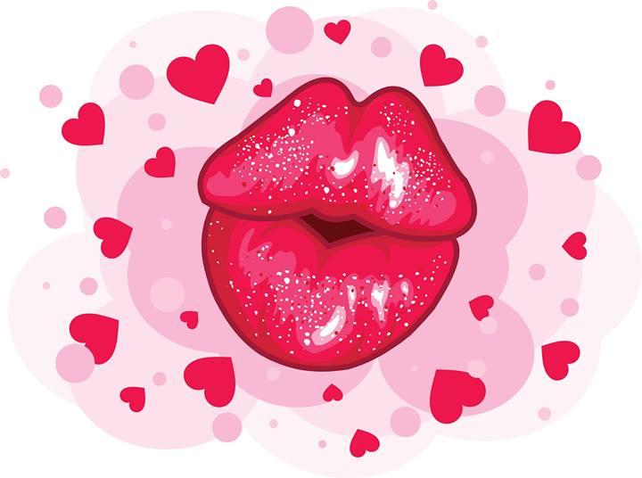 картинки с поцелуями и стихами